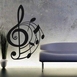 Vinilo Clave musical