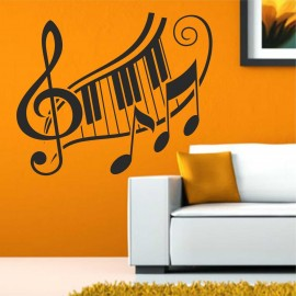 Vinilo Teclado musical