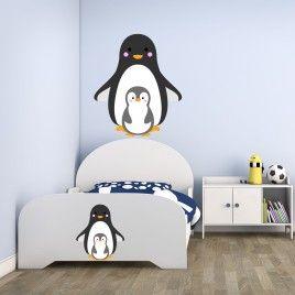 Vinilo infantil Pingüinos