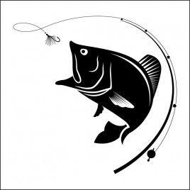 Pegatina Pesca Trucha