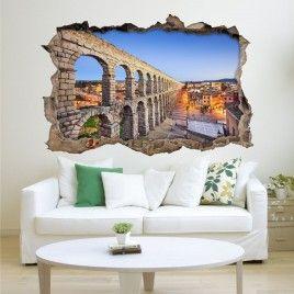 Vinilo Roto 3D Segovia