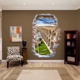 Vinilo Roto Acueducto Segovia