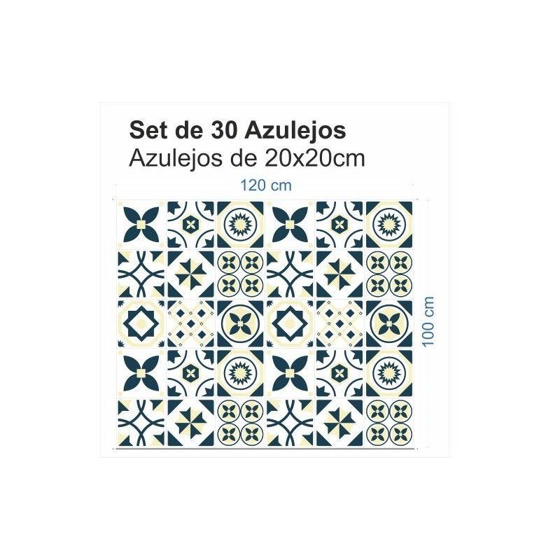 Vinilo Azulejo Hidráulico 1