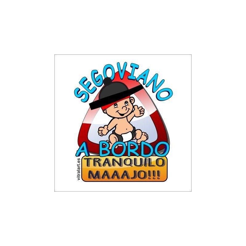 Segoviano A Bordo Bebe