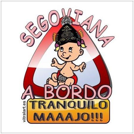 Segoviana A Bordo Bebe
