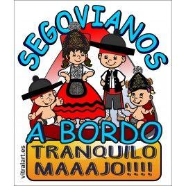 Segovianos A Bordo familia