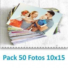 Pack 50 Fotografías 10x15 cm