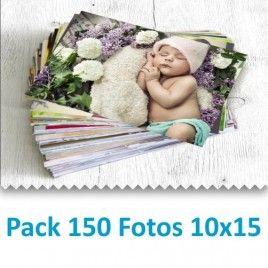 Pack 150 Fotografías 10x15 cm