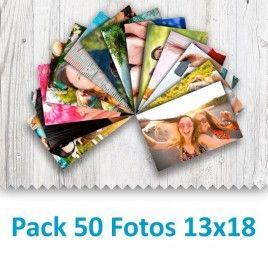 Pack 50 Fotografías 13x18cm